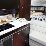 335SY-galley-and-bed1