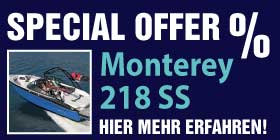 special offer Monterey 218SS